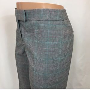 AK Stretch Plaid Dress Pants